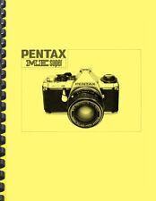 Pentax ME Super Camera OWNER'S OPERATING MANUAL