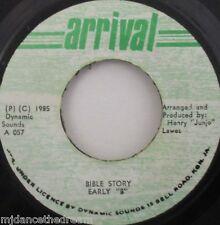 """EARLY B - Bible Story ~ 7"""" Single JA PRESS"""