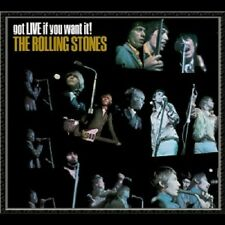"THE ROLLING STONES ""GOT LIVE IF YOU WANT"" CD NEUWARE"
