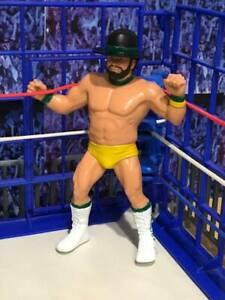WWF LJN Wrestling Figure BILLY JACK HAYNES (1987) With Original Hat ** RARE **