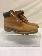 Mens Size 7 Timberland Wheat Nubuck Leather Boots