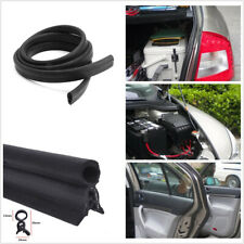 4M Waterproof Rubber Edge Seal Noise Weather Strip For Car SUV Door Trunk Hood