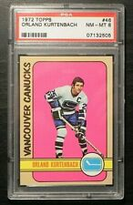 1972-73 72/73 Topps Hockey #46 Orland Kurtenbach Vancouver Canucks PSA 8 NM-MT