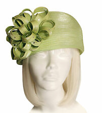 Beret Cloche Hat With Floral Accent - Assorted Colors (FACTORY CLOSEOUT)