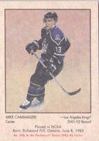 02-03 Parkhurst Retro Mike Cammalleri /300 Rookie LA Kings 2002