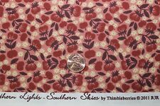 """BORDER BLAST"" CLUB 2011 THIMBLEBERRIES COTTON QUILT FABRIC BTY BY RJR 9010-1"