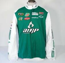Adidas Dale Earnhardt Jr Zip Front Racing Jacket Green & White Mens 2XL XXL NWT