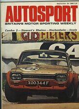 Autosport September 20th 1968 *Bridgehampton Can Am*