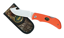 Outdoor Edge Grip-Hook - Blaze with pouch, Hunting Knife, Deer Hunting Knife