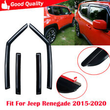 4 Pcs/set Window Deflector Fit For Jeep Renegade 2015-2020 Outside Mount
