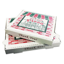 GENERAL SUPPLY Takeout Containers 12in Pizza White 12w x 12d x 1 3/4h 50/Bundle