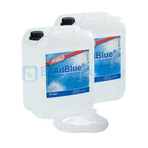 (1€/L)ADBLUE 2x 10 Liter AD BLUE Kanister von HOYER mit Ausgießer für Audi,VW
