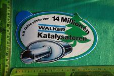 Alter Aufkleber Auto 14 Millionen WALKER Katalysatoren