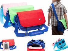"""Kids Messenger Travel Shoulder Storage Bag Case for Leapfrog Epic 7"""" Tablet"""
