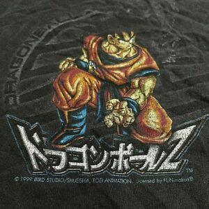 Vtg 1999 Dragon Ball Z Super Saiyan Anime Manga Promo T Shirt 90's DragonBall Z