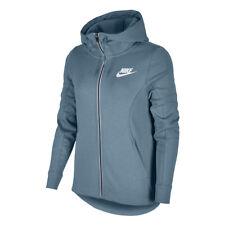 Felpe e tute da donna bianchi con cappuccio Nike