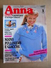 ANNA Burda n°1 1983 con cartamodelli  [C60]