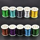 10 Colors Fly Tying Floss Thread Silk Shiny Fly Tying Materials For Nymphal &...