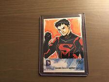 DC COMICS 52 SUPERMAN SKETCH BY IRMA AHMED