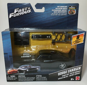 Mattel Fast & Furious 1/32 Dom's Dodge Charger / Daytona Vehicle Kit New
