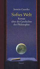 Sofies Welt. Roman über die Geschichte der Philosophie. von Jostein Gaarder - HC