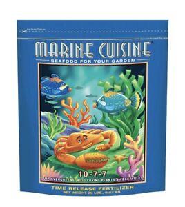 Fox Farm Happy Frog Marine Cuisine Fertilizer.