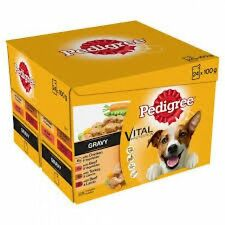 Pedigree Pouch - Real Meals Gravy 12 X100g X 4