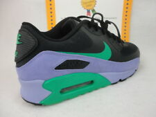 Nike Air Max 90 Premium, Hyperfuse / Suede, 2012, Black / Green / Violet, Sz 14