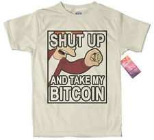 Bitcoin T shirt Design, #Fry