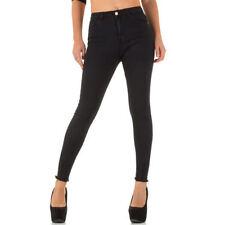 M-Cut-Jeans mit hoher Bundhöhe (en) Damen-High-waist