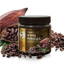 TRUE & LIFE PRIME CACAO NIBS 250g Natural Organic Beans Nib Tea Taste Superfood