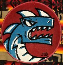 joe ledbetter ice dragon round rug signed #17/50