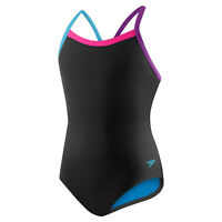 Speedo Solid Propel Back Pro LT Swimsuit - Womens Size 30 - Black - Onepiece