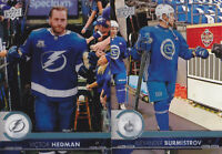 17-18 Upper Deck Victor Hedman Clear Cut Series 2 Lightning Acetate 2017