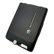 Genuine Original Battery Back Cover For Sony Ericsson C702 - Black