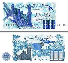 ONE NOTE FROM CONSECUTIVE BUNDLE 3RW 17NOV XF ALGERIA 100 DINARS 1964 P 125