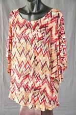 Viscose Tunic Hand-wash Only Multi-Colored Tops & Blouses for Women