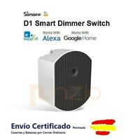 SONOFF D1 DIMMER INTERRUPTOR INALAMBRICO WIFI RF REGULADOR DE INTENSIDAD