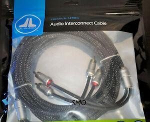 JL AUDIO XE-BLKAIC2-18 2CH 18 FT RCA Premium Audio Interconnect pure OFC Copper