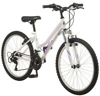 New Roadmaster 24 inch Granite Peak Mountain Bike Girls 18 speed FAST SHIPPING
