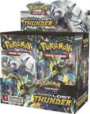 Pokémon Sun & Moon Lost Thunder Display Booster Card Box