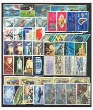 Barbados 50 Different Stamps All Mint Unhinged In Complete Sets MUH