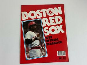 1979 Boston Red Sox BASEBALL OFFICIAL YEARBOOK, Fenway park