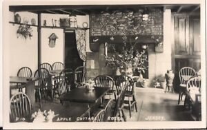 LOVELY RARE R/P POSTCARD - APPLE COTTAGE - ROZEL BAY - JERSEY C.1946 by A.G.L.M.