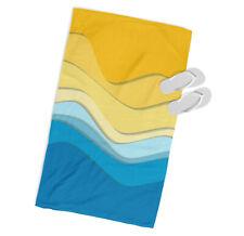 Voiliers Mer Microfibre Serviette de plage NEUF multicolore