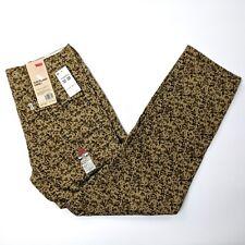 Levi's Slim Straight Harvest Gold Spivey Camo Twill Cargo Pants Mens W32 x L30