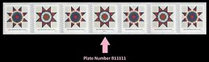 US 5098-5099 5099a Star Quilts Presorted First-Class PNC7 B11111 MNH 2016