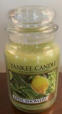 NEW - Yankee Candle - April Showers - 22 oz Large Jar