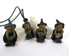 Anhänger mit amulette Hexe Schutz Talisman Hals Kette UNISEX Stein  NEU