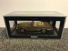 Mercedes-Benz MB 300 SL 1986 Gold Metallic 1:18 Norev